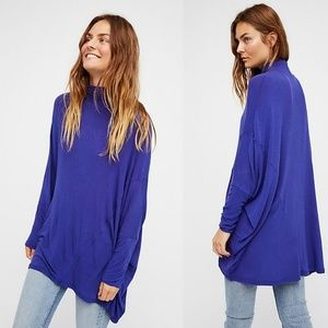 Free People Terry Oversized Tee